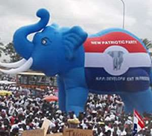 NPP Houston-Texas Chapter Joins Campaign In Mfantseman Constituency